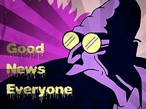 SJ0868 Professor Farnsworth Good News Futurama 24x18 Print POSTER