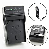 Silverlake Portable Wall & Car Rapid Charger for Nikon EN-EL15 Camera Battery - Fits Nikon D500, D600, D610, D7000, D7100, D800, D800E, D810, D810A, D7200, D750, Nikon 1 V1