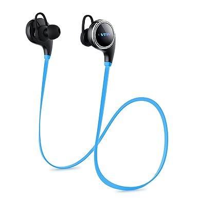[actualizado QY8] VTIN cisne auriculares Bluetooth V4.1 inalámbrico Deportes Auriculares Correr Gimnasio