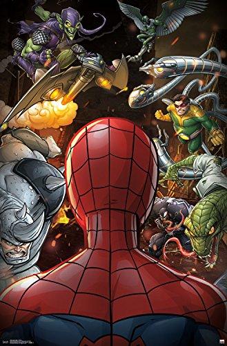 46ced24083f9 Trends International Spider-Man Villains Wall Poster 22.375 quot  ...