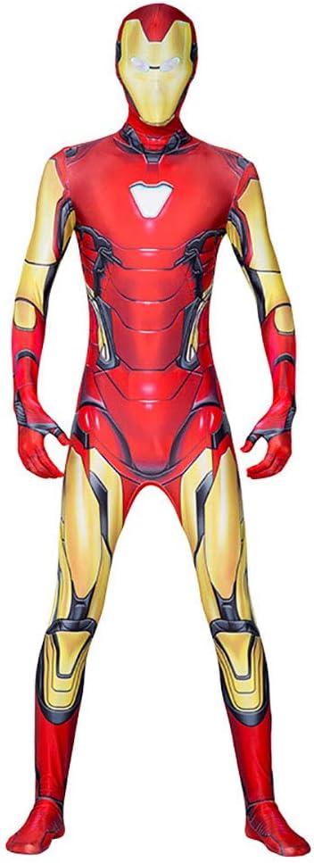 Disfraz de Iron Man de primera calidad: mono de Avengers adultos ...