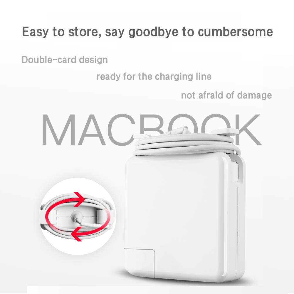 Mac Book Pro Charger, RAYI Replacement 85w Magsafe2 T-Type Power Adapter Ac Charger Suitable for Mac Book Pro 13-inch 15inch and 17 inch (After Late Mid 2012) (85w) by RAYI (Image #4)