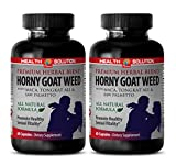 Male enhancing pills erection fast acting – HORNY GOAT WEED (ALL NATURAL FORMULA) – Horny goat weed blend supplement – 2 Bottles 120 Capsules