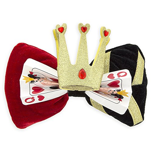 Disney Parks Queen of Hearts Bow - Swap Your Bow - Interchangeable Ears