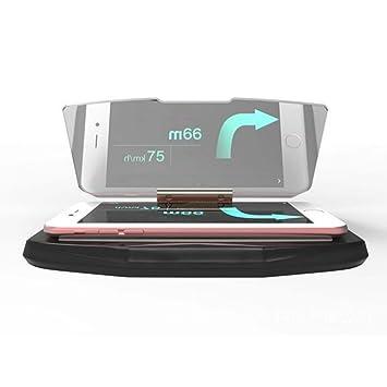 EarthSafe® Heads Up Display, HUD coche del GPS del teléfono móvil Imagen de la