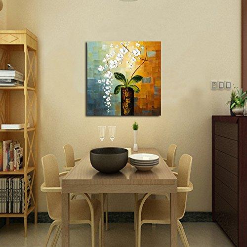 Wieco Art – Beauty of Life 100% Hand-painted Modern Flower Artwork ...