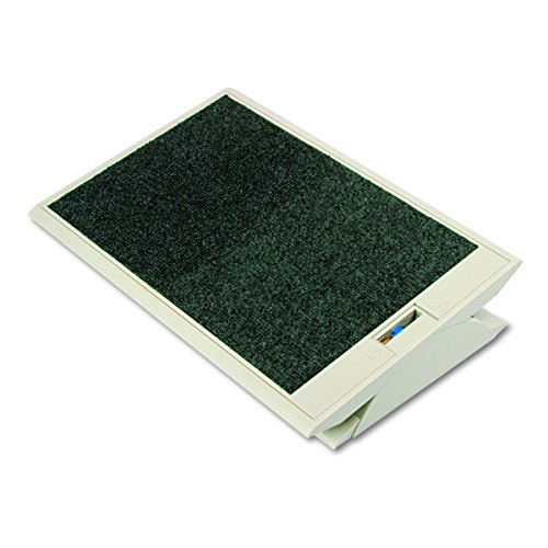 (Eldon 4603 Footease Adjustable Footrest, Platinum, 19w x13d x3h)
