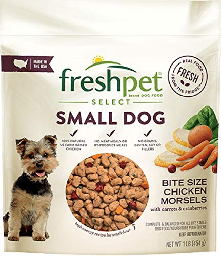 Freshpet Select Tender Chicken Recipe For Small Dogs, 1 Lb (Pack of 6)