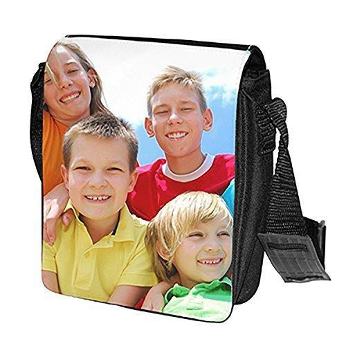 Spalla Nero Sacchetto Stampa Personalizzata Cm Vita Del 18 Foto Della X 22 Di Pacchetto RqSrpUxR