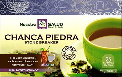 Chanca Piedra - StoneBreaker Filter Tea Pack Nuestra Salud ()