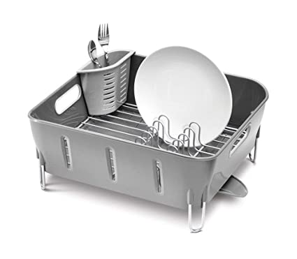 7cb7ea9f784f Image Unavailable. Image not available for. Color: simplehuman Compact Dish  Rack ...
