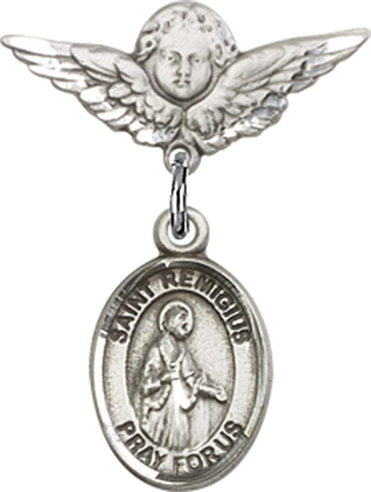 Remigius of Reims Pendant Sterling Silver St