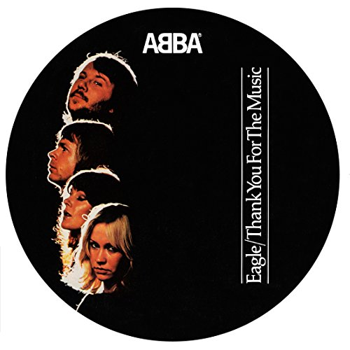 Vinilo : ABBA - Eagle / Thank You For The Music (Picture Disc) (Limited Edition, Picture Disc Vinyl LP, United Kingdom - Import)
