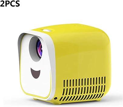 ZUKN Mini Proyector Portátil LCD Altavoz Incorporado Full HD 1080P ...