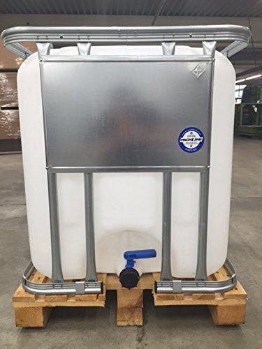 600l IBC Container, 1,2x0,8m, gebraucht, hochdruck gereinigt