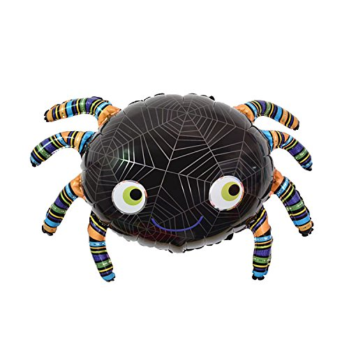 Super Funny Halloween Spider Foil Balloon Party Decor Party Supply, Halloween, -