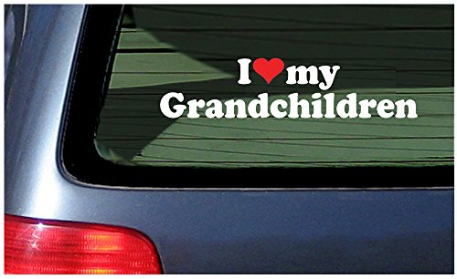 Love Grandchildren Vinyl Decal Sticker