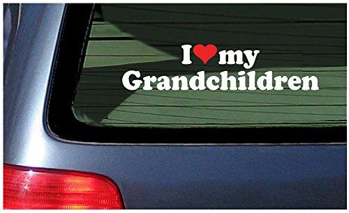 Love Grandchildren Vinyl Decal Sticker product image