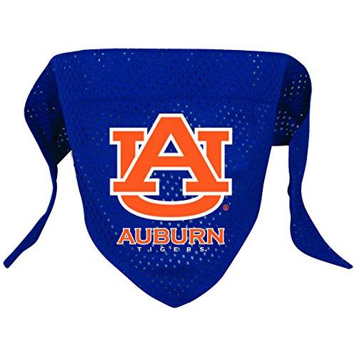 NCAA Auburn Tigers Pet Bandana, Team Color, Large