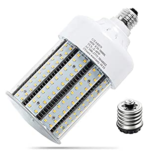 40w led Garage Light Bulb, 5000k Corn led Bulb,E26 E39 Base, Led Replacement incandesce CFL Metal Halide HID HPS lamp for Indoor Outdoor Garage Yard barn Warehouse Workshop Gym