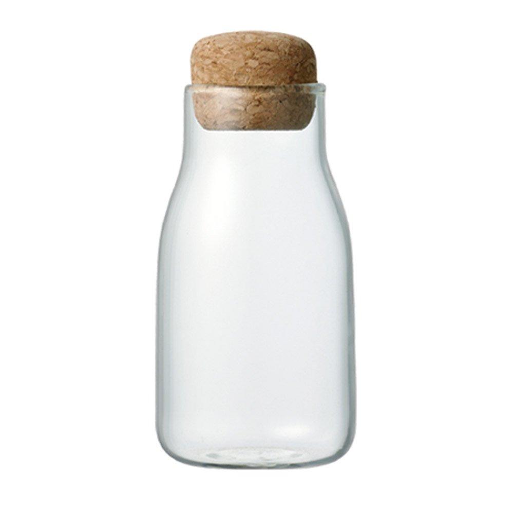 Kinto Bottlit canister 150 ml, bonita botella con tapón de corcho