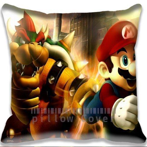 game Mario Bros Pillowcase/Fundas para almohada Fashion ...