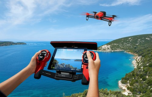 Parrot Sky Controller for Bebop Quadcopter Drone - Red (Certified Refurbished)