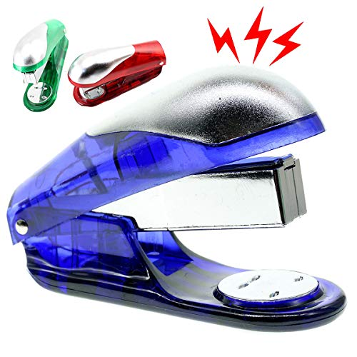 Cooplay Electric Shocking Fake Book Stitcher Sewer Stapler Prank Toy Joke Funny Gadget Shock Tricky Gag Veigar Fools Day for Halloween - Toy Shock