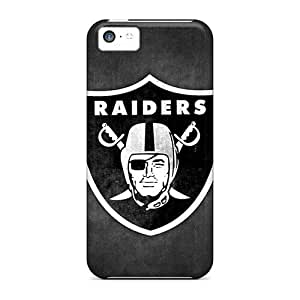 Premium OkC608VnEE Case With Scratch-resistant/ Oakland Raiders 6 Case Cover For Iphone 5c