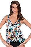 Magicsuit Shangri-La Corynne Tankini Top Size 12
