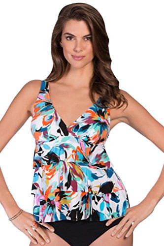 Magicsuit Shangri-La Corynne Tankini Top Size 12 by Magic Suit