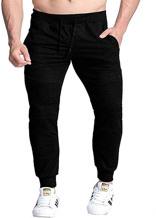 Pantalones jogger para hombre Pantalón de chándal para hombre ...