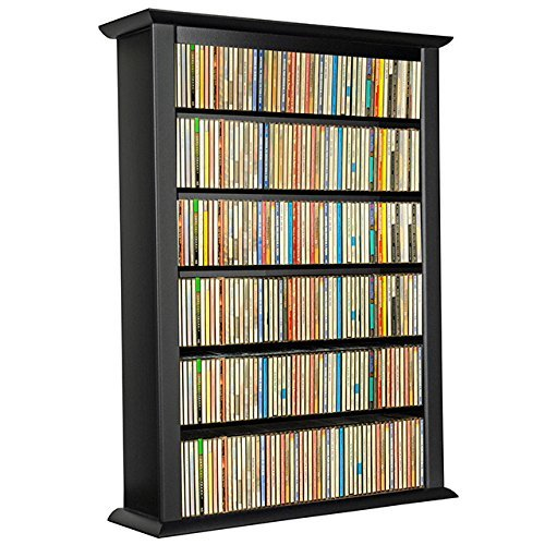 Venture Horizon Wall Mount Media Cabinet-Single Black