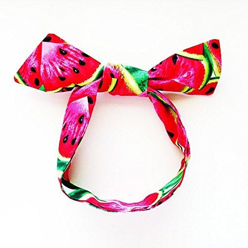 Juicy Watermelon Head Scarf / ME2Designs Multipurpose Cotton Scarf Tie or - Scarf Juicy