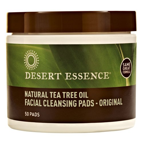 - Desert Essence Natural Cleansing Pad - 50 pads per pack - 6 packs per case.