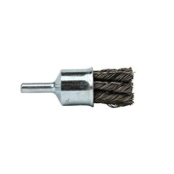 3//4 Diameter 20000 rpm Lincoln Electric KH281 Knotted End Brush 1//4 Shank Pack of 3