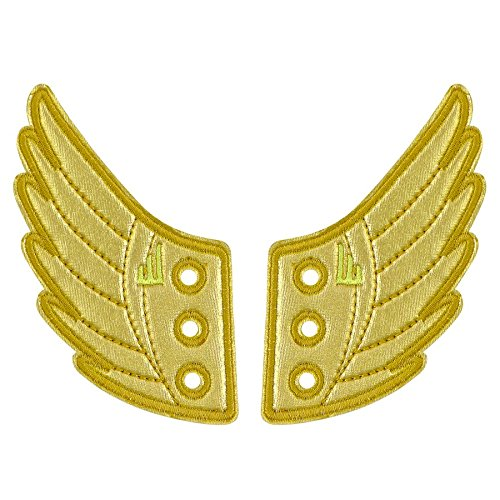 The Original Shwings: Fly Your True Colors - Gold Shoe Wings (10101) (Hermes Helmet)