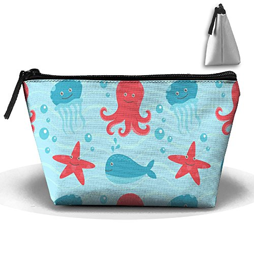 Clutch Octopus Storage Bag Trapezoid Pouch Build Organizer U Travel TI5qwqY7