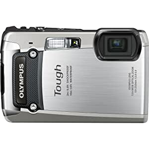 Olympus Digital Camera TG-820 Silver (Old Model)