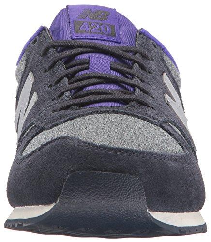 Basse Ginnastica New 420 purple Scarpe Da Donna Balance Viola q7xwfSx4