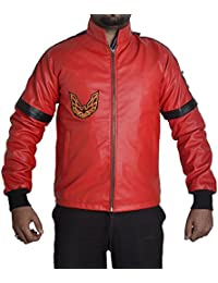 Amazon.com: Reds - Leather & Faux Leather / Jackets & Coats ...