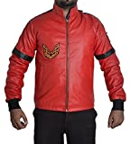 MSHC Smokey and The Bandit Burt Reynolds Red Bomber Leather Jacket (2XL)