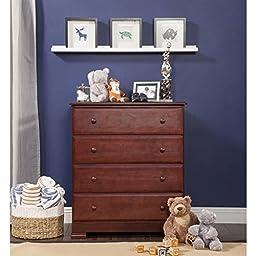 DaVinci Kalani 4 -Drawer Baby Dresser - Cherry