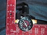 """Norgren R07-200-Rgka 1/4"""" Nptf General Purpose Pressure Regulator With 160-Psi Gauge.Harvested; Never Installed System"""