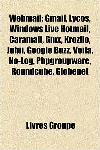Amazon fr - Webmail: Gmail, Lycos, Windows Live Hotmail