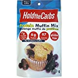 HoldTheCarbs Low Carb Protein Muffin Mix with Stevia and Erythritol, 110g