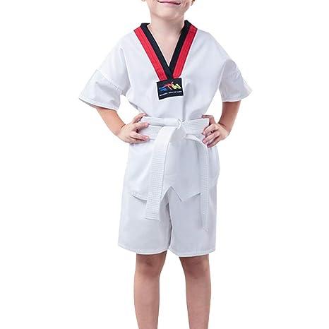 Huatime Artes Marciales Ropa Niños Adulto Unisex Trajes Taekwondo ...