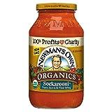 Newman's Own Organic Sockarooni Pasta Sauce 23.5oz , pack of 1