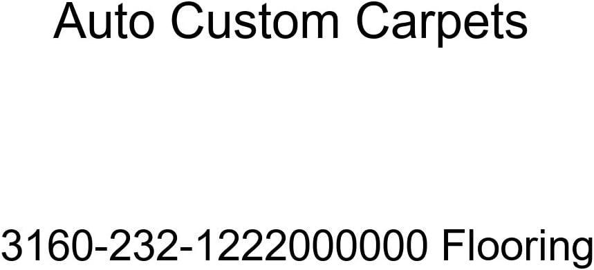 Auto Custom Carpets 3160-232-1222000000 Flooring