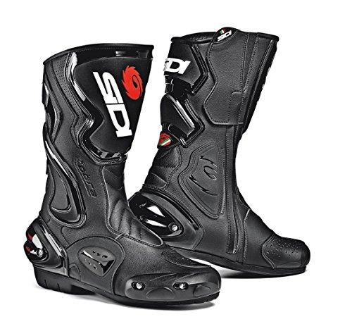 Sidi Cobra Motorcycle Boots Black US8.5/EU42 (More Size Options) ()